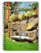 Overlook At The Gorge Spiral Notebook