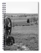 Overlooking Bilgerville Road Farm   Spiral Notebook