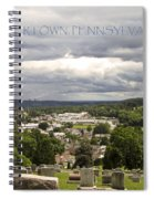Overlooking Boyertown Spiral Notebook