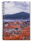Overlooking Dubrovnik Spiral Notebook