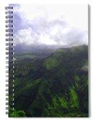 Overlooking Hanalei Bay Spiral Notebook