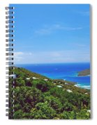 Overlooking Paradise Spiral Notebook