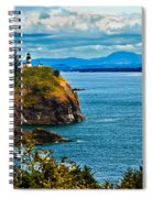 Overlooking Spiral Notebook
