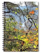 Overlooking The Gorge Spiral Notebook