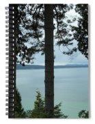 Overlooking The Ocean Spiral Notebook