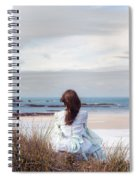 Overlooking The Sea Spiral Notebook