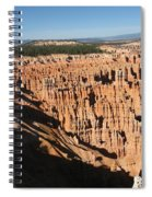 Overview At Bryce Canyon Spiral Notebook