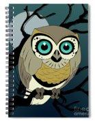 Owl 3 Spiral Notebook
