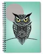 Owl 5 Spiral Notebook