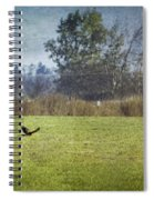 Owl Hunting No. 2 Spiral Notebook