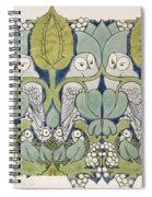 Owls, 1913 Spiral Notebook