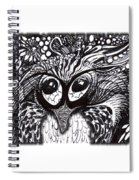 Owls Eyes Spiral Notebook
