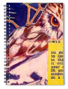 Owls In The Trees Spiral Notebook