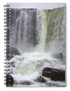 Oxarafoss Waterfall Spiral Notebook