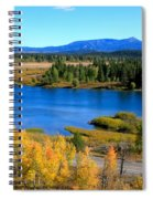 Oxbow Bend, Grand Teton National Park Spiral Notebook