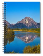 Oxbow Bend II Spiral Notebook