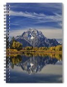 Oxbow Reflections Spiral Notebook