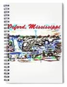 Oxford Mississippi 38655 Spiral Notebook