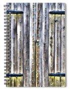 Oxidized Emerald Patina Spiral Notebook