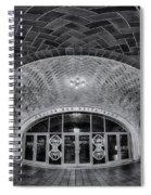 Oyster Bar Bw Spiral Notebook