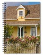 Oysterville Home 8 Spiral Notebook