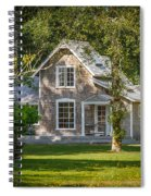 Oysterville House 7 Spiral Notebook