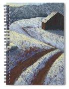 Ozark Winter Barn Spiral Notebook