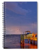 Ozona Pier  Spiral Notebook