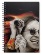 Ozzy's Fire Spiral Notebook