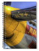 P-51 Impatient Virgin Spiral Notebook
