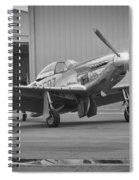 P-51d Spam Can Spiral Notebook
