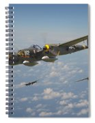 P38 Lightning - Pacific Patrol Spiral Notebook