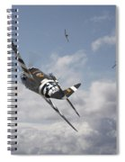 P47- Fw190 - Carousel Spiral Notebook