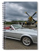 P51 Meets Eleanor Spiral Notebook
