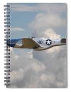 P51 Mustang Gallery - No3 Spiral Notebook