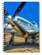 P51 Mustang  Kwitcherbitchin Spiral Notebook