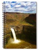 Pa Louse Falls Spiral Notebook