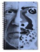 Pablo Cyan Spiral Notebook
