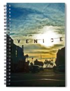 Pacific Ave Spiral Notebook