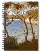 Pacific Beaches Spiral Notebook