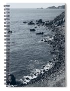 Pacific Coast 4 Spiral Notebook