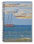 Pacific Coast Costa Rica Spiral Notebook