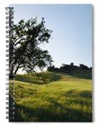 Pacific Coast Oak Malibu Creek Landscape Spiral Notebook
