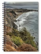 Pacific Coast Storm Clouds Spiral Notebook