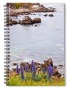 Pacific Grove Coastline Spiral Notebook