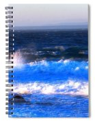 Pacific Grove Surf 19806 Spiral Notebook