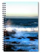 Pacific Grove Surf 19894 Spiral Notebook