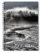 Pacific Island Fog Spiral Notebook