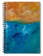 Pacific Isle Sunset Spiral Notebook