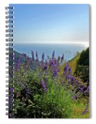 Pacific Lupines Spiral Notebook